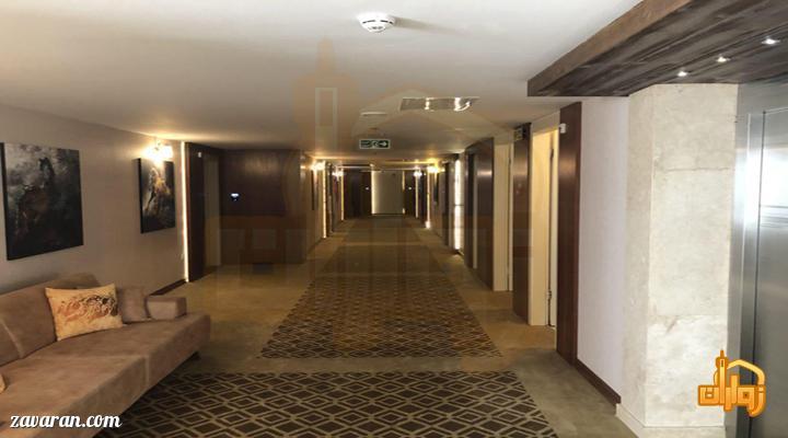 راهرو هتل رفاه مشهد