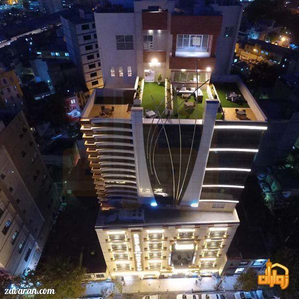 ساختمان هتل رفاه مشهد