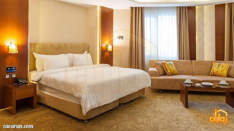 رزرو اتاق دو تخته هتل رفاه مشهد