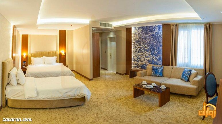 رزرو اتاق سه تخته هتل رفاه مشهد