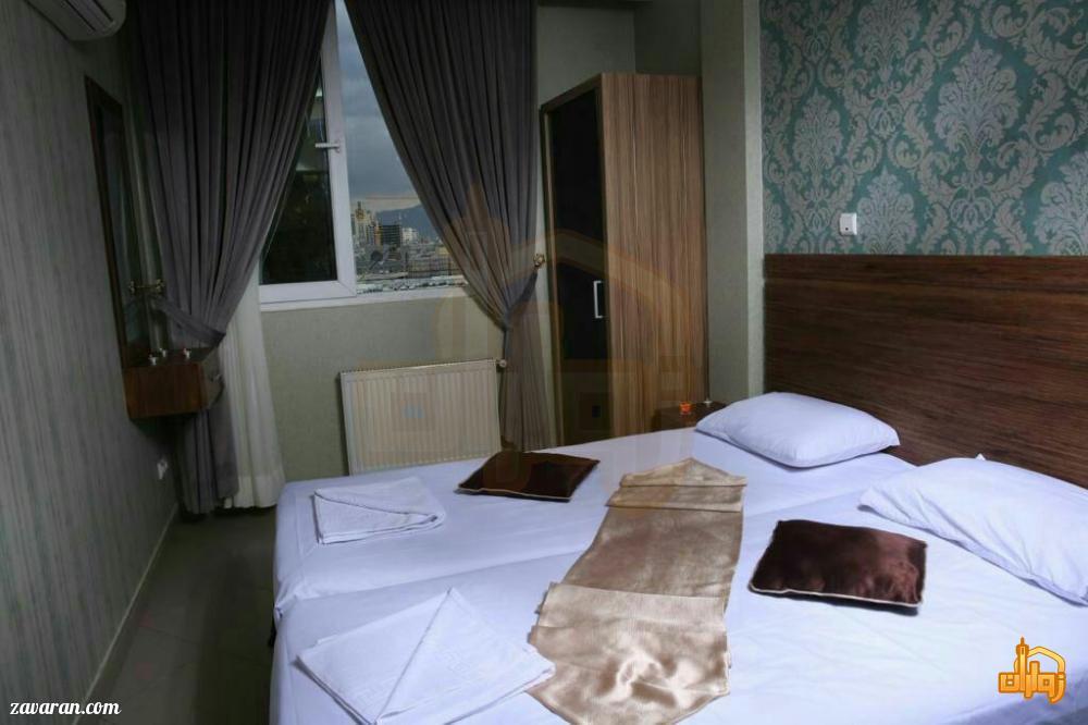 رزرو اتاق دو تخته هتل آپارتمان سوره مشهد