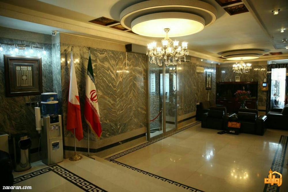 فضای داخلی هتل آپارتمان سوره مشهد