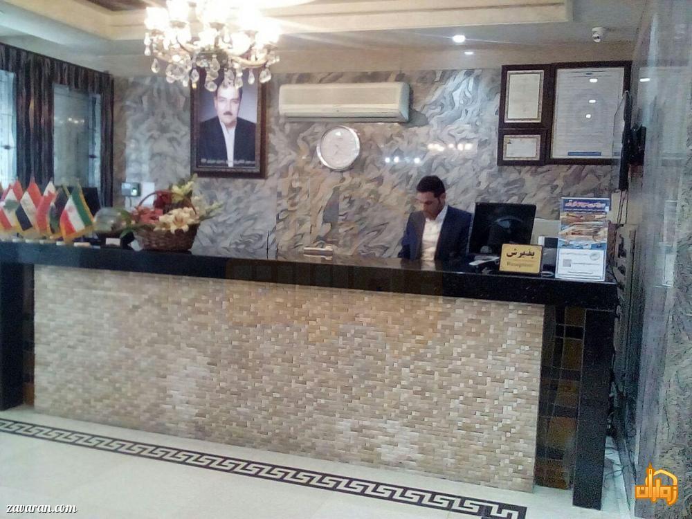 پذیرش هتل آپارتمان سوره مشهد