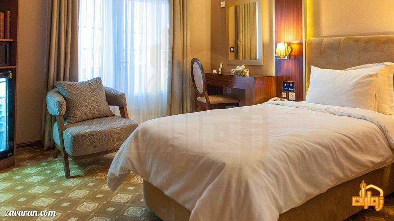 رزرو اتاق یک تخته هتل رفاه مشهد