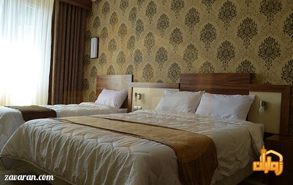 رزرو اتاق سه تخته هتل هاترا مشهد