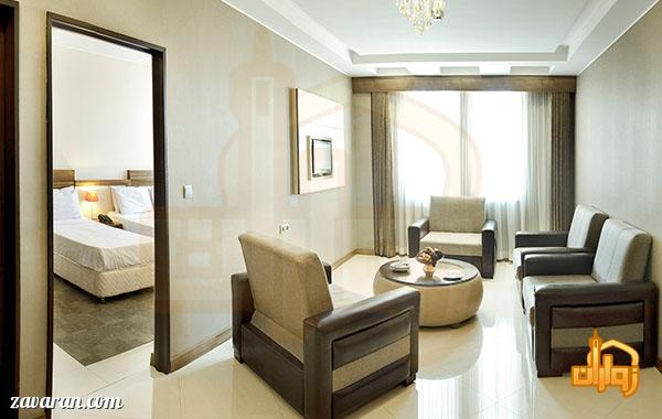 رزرو سوییت یک خوابه هتل هاترا مشهد