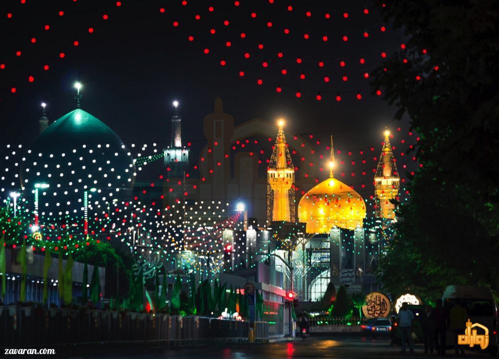 قیمت هتل در مشهد برای عید غدیر