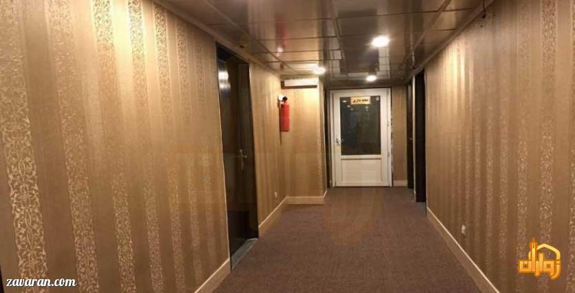 راهرو هتل ایثار مشهد