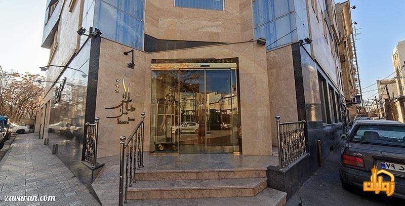 ورودی هتل هاترا مشهد