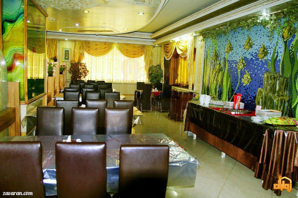 رستوران هتل آپارتمان دیانا مشهد
