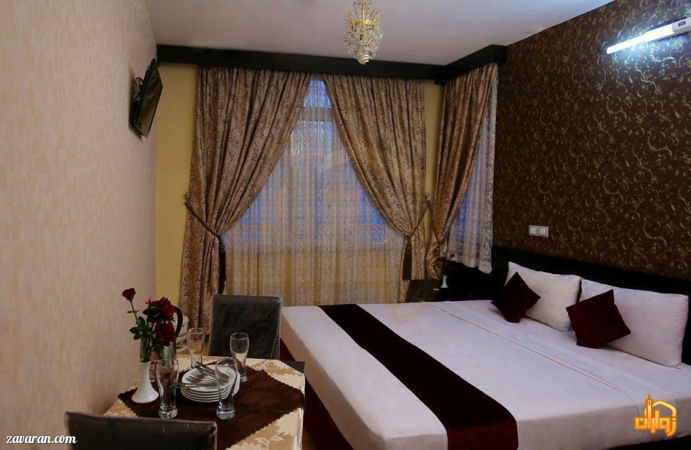 رزرو اتاق دو تخته در هتل ایثار مشهد