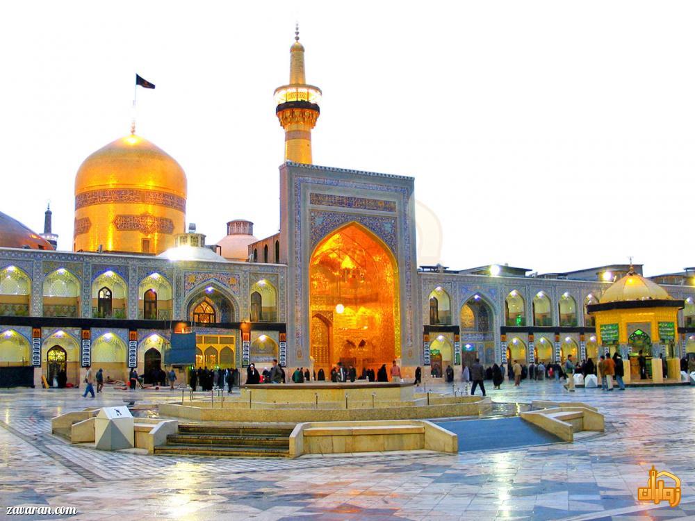 قیمت هتل های مشهد در ماه مهر