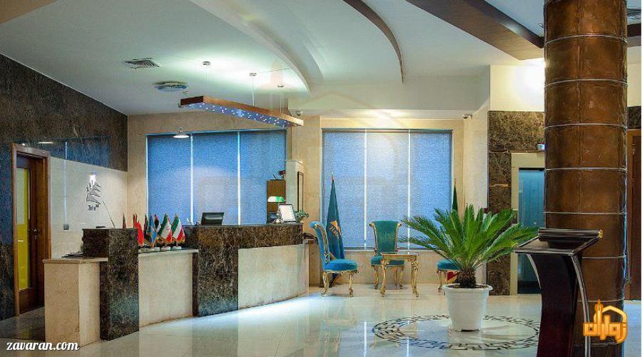 پذیرش هتل هاترا مشهد