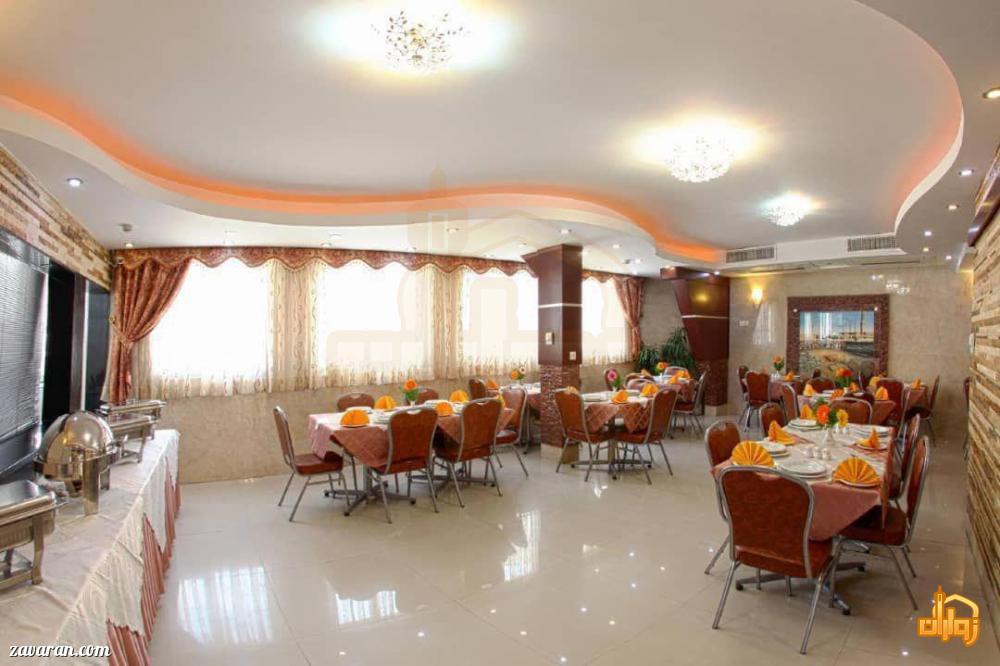 رستوران هتل ایثار مشهد