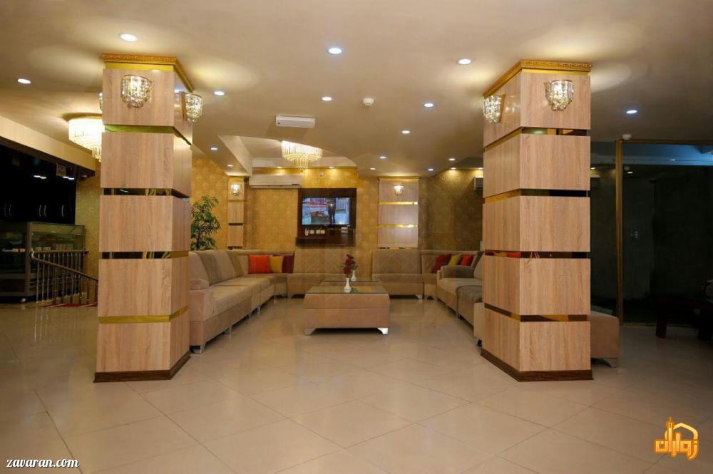 لابی هتل ایثار مشهد