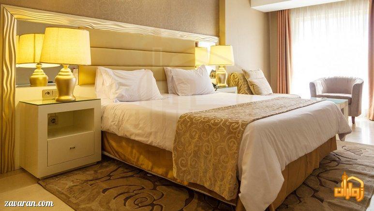 رزرو اتاق دو تخته هتل اترک مشهد