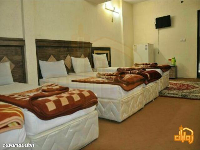 رزرو اتاق پنج تخته هتل ارگ مشهد