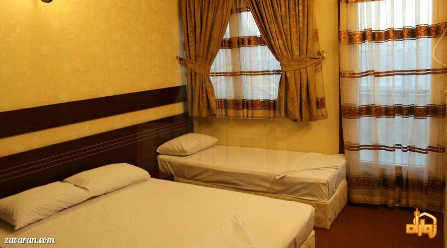 رزرو اتاق سه تخته هتل ارگ مشهد