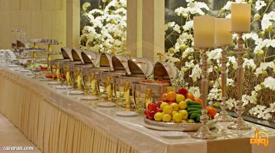 بوفه هتل اترک مشهد