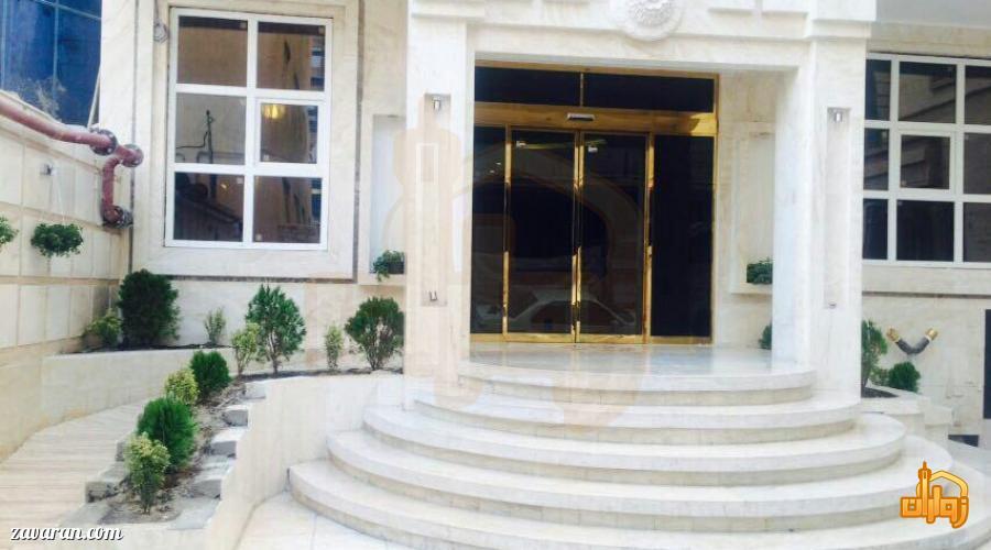 ورودی هتل آپارتمان پارادایس مشهد
