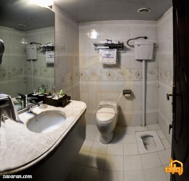 سرویس بهداشتی اتاق های هتل سهند مشهد