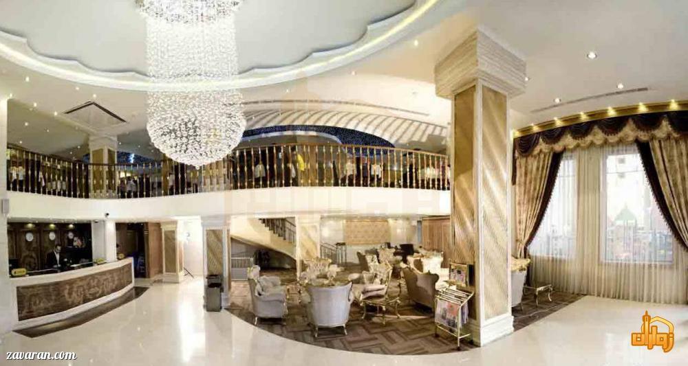 فضای داخلی هتل سهند مشهد