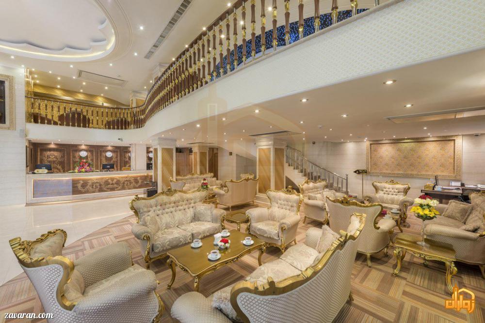 لابی هتل سهند مشهد