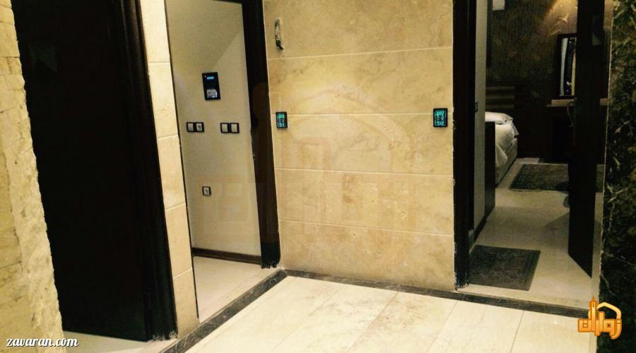 راهرو هتل آپارتمان پارادایس مشهد