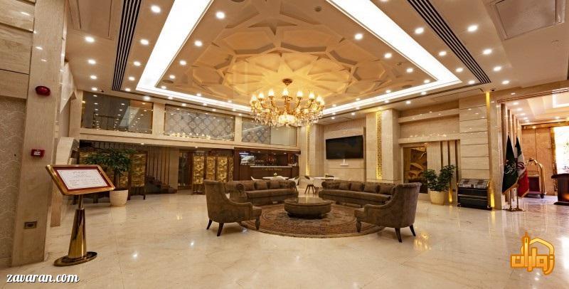 لابی و فضای داخلی هتل آدینا مشهد