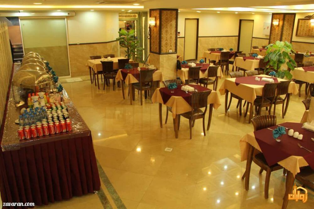 رستوران هتل عقیق مشهد
