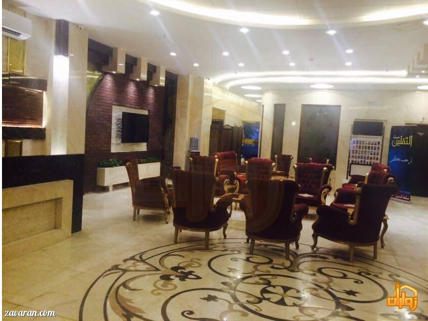 لابی هتل آپارتمان پاراداس مشهد