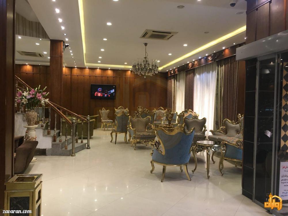 فضای داخلی هتل دیبا مشهد