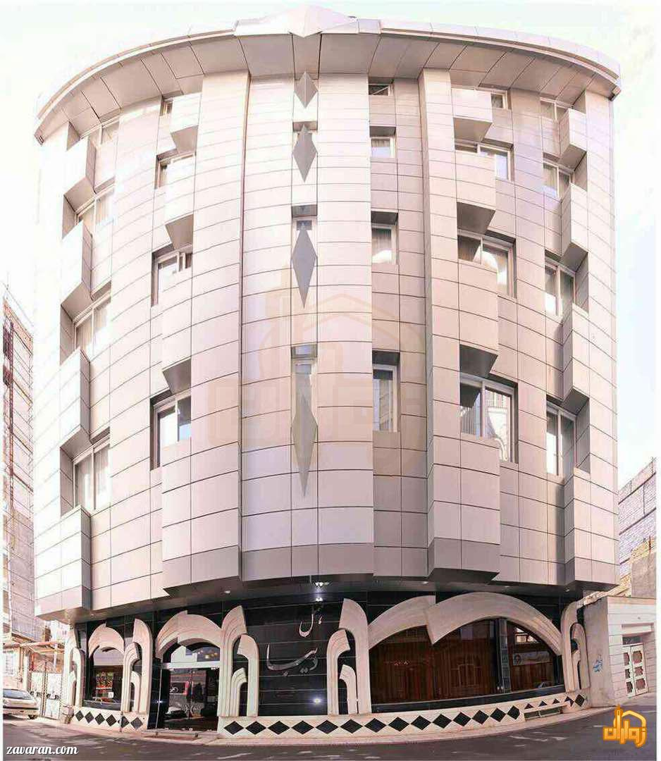 ساختمان هتل دیبا مشهد