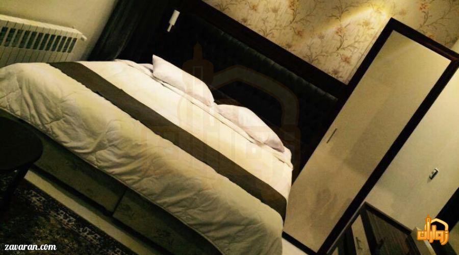 رزرو اتاق دو تخته هتل آپارتمان پارادایس مشهد