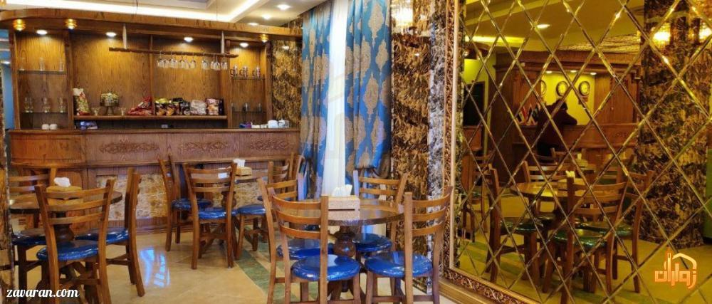 کافی شاپ هتل عقیق مشهد