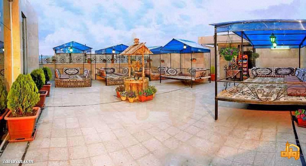 قهوه خانه هتل سهند مشهد