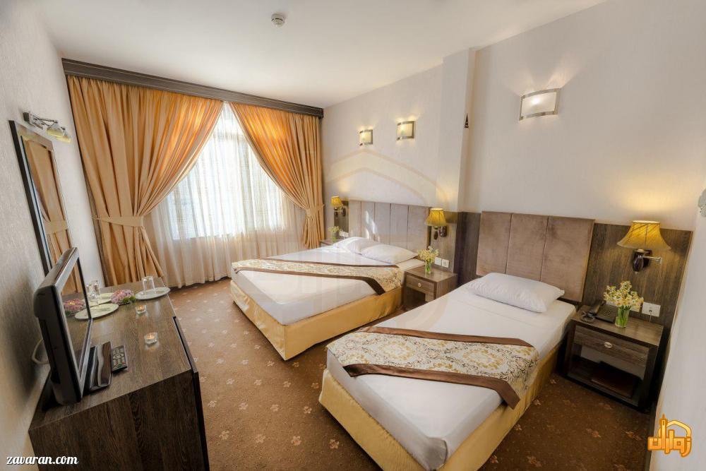 رزرو اتاق سه تخته هتل سهند مشهد