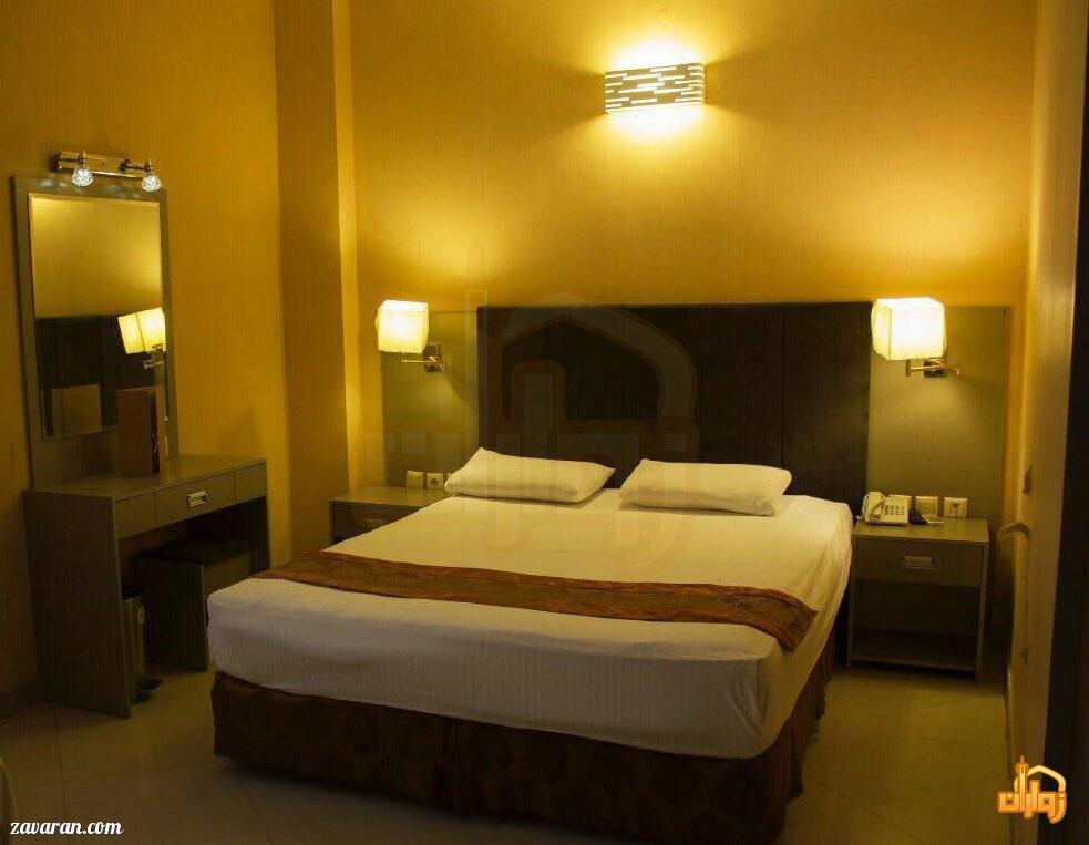 رزرو اتاق دو تخته هتل دیبا مشهد