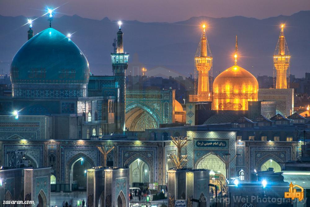 قیمت رزرو هتل مشهد برای عید 98