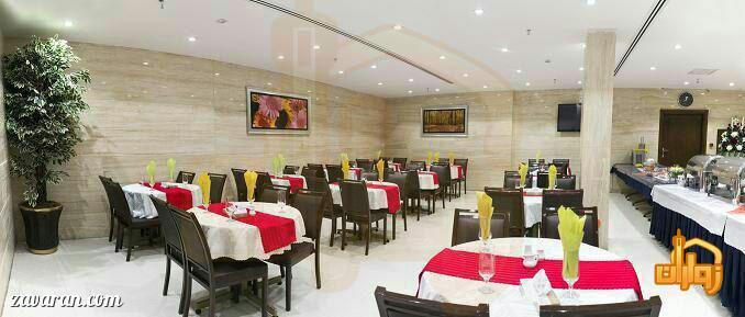 رستوران هتل آیران مشهد