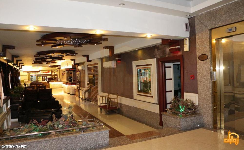 لابی و فضای داخلی هتل نیما مشهد