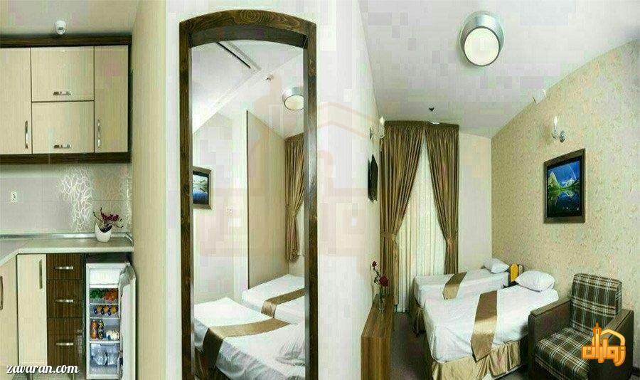 رزرو هتل آیران مشهد