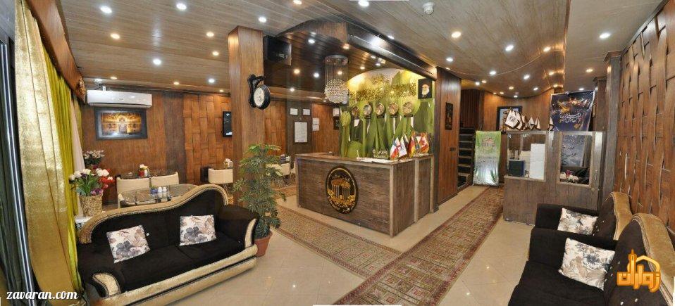 هتل آپارتمان قصر سفید مشهد