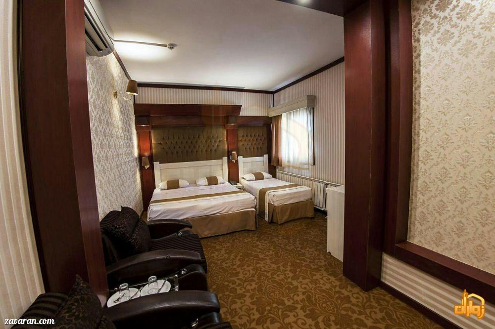 رزرو اتاق سه تخته هتل نیما مشهد