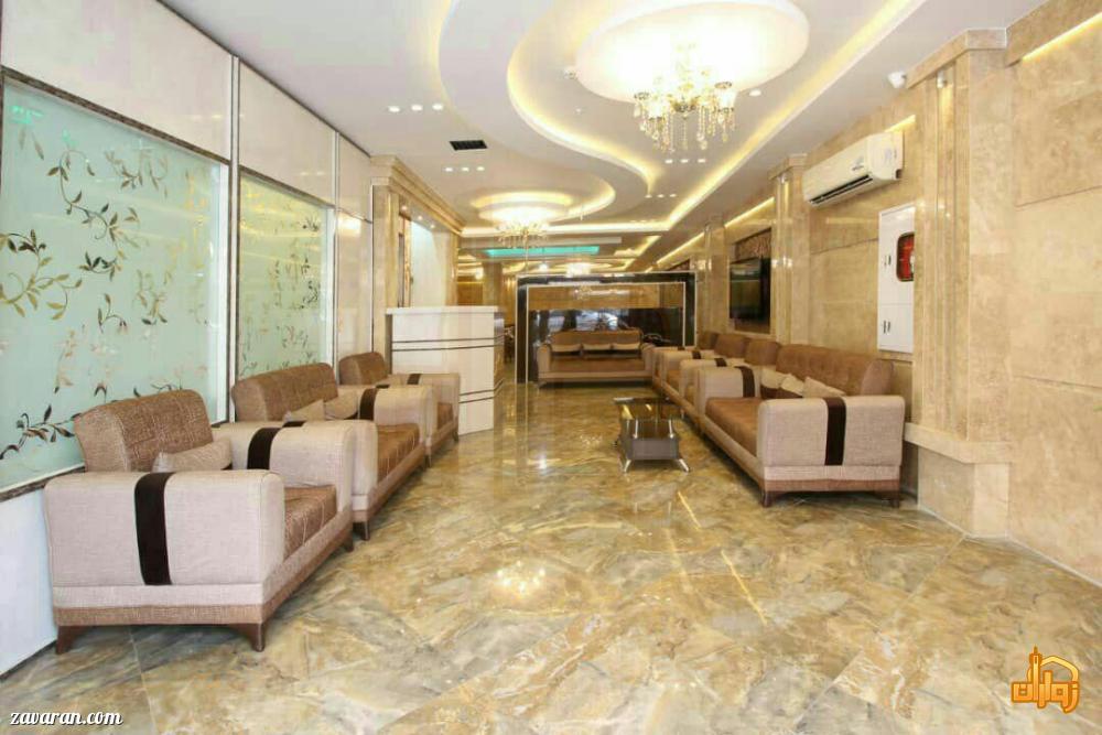 قیمت هتل آپارتمان دوستان مشهد برای اقامت نیمه شعبان