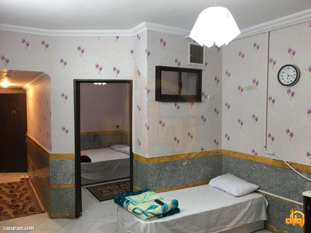 قیمت هتل آپارتمان ملک مشهد برای نیمه شعبان