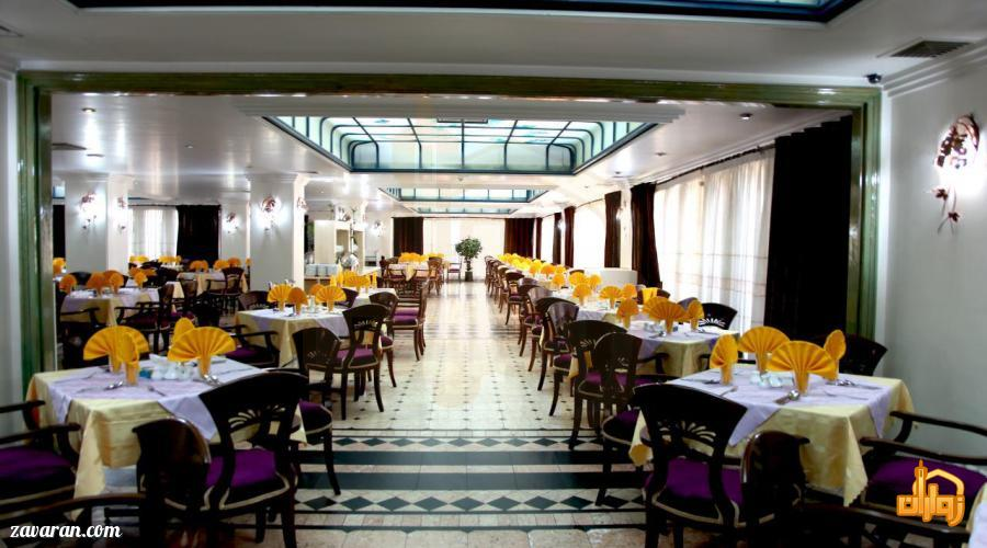 رستوران هتل رضویه مشهد