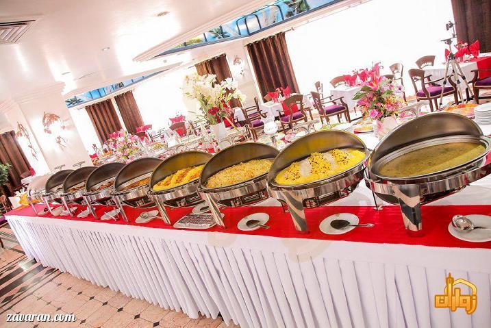 غذای هتل رضویه مشهد