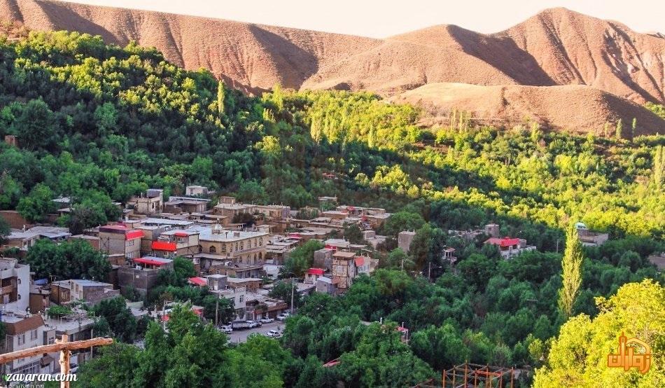 مناطق دیدنی روستای بوژان مشهد