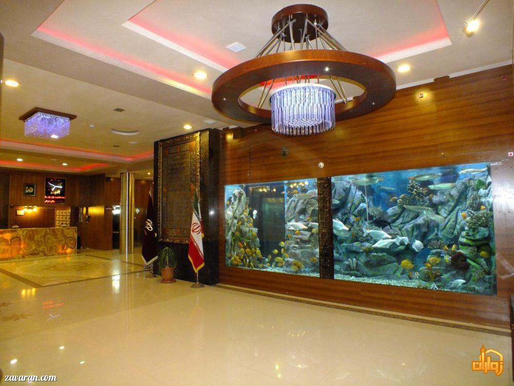 آکواریوم هتل پارمیدا مشهد